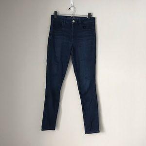 AEO Denim X Dark Blue Jegging Size 6